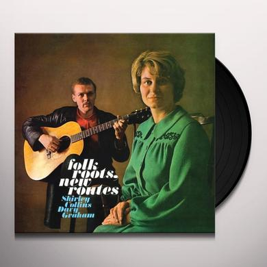 Shirley Collins / Davy Davy Graham FOLK ROOTS NEW ROUTES Vinyl Record - 180 Gram Pressing