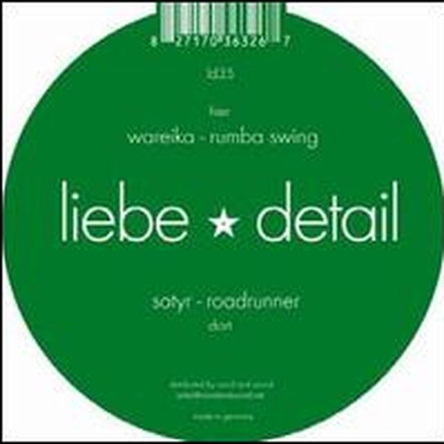 Satyr / Wareika ROADRUNNER / RUMBA SWING (EP) Vinyl Record