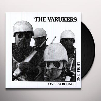 The Varukers ONE STRUGGLE ONE FIGHT Vinyl Record