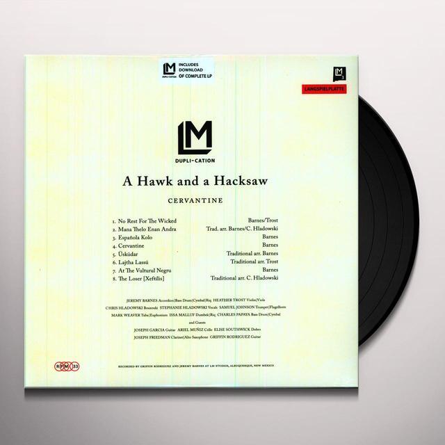 Hawk & A Hacksaw CERVANTINE Vinyl Record
