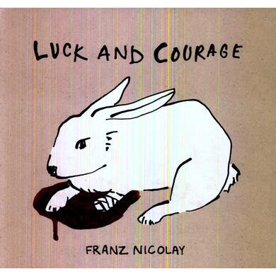 Franz Nicolay LUCK & COURAGE Vinyl Record