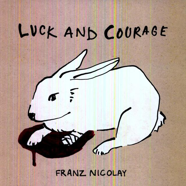 Franz Nicolay LUCK & COURAGE Vinyl Record - Digital Download Included