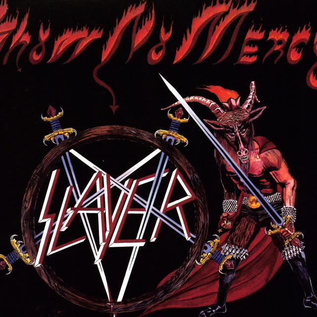 Slayer SHOW NO MERCY Vinyl Record - UK Import