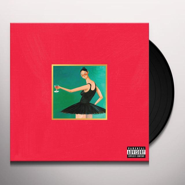 Kanye West MY BEAUTIFUL DARK TWISTED FANTASY Vinyl Record
