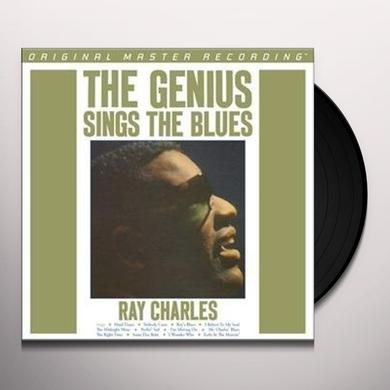 Ray Charles GENIUS SINGS THE BLUES Vinyl Record