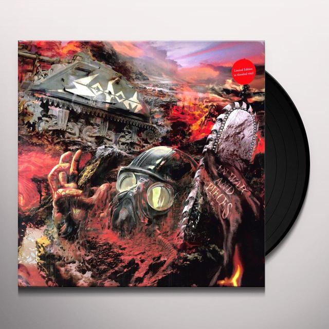 Sodom IN WAR & PIECES Vinyl Record