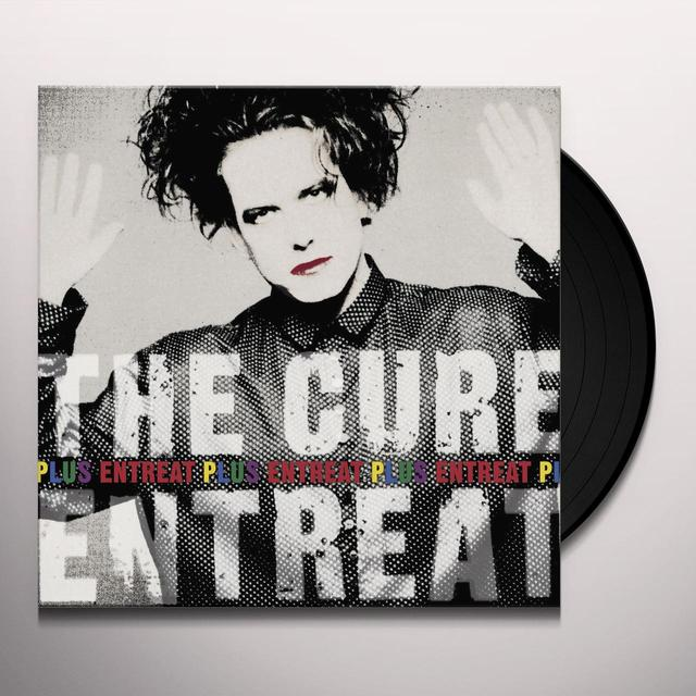 The Cure ENTREAT PLUS Vinyl Record