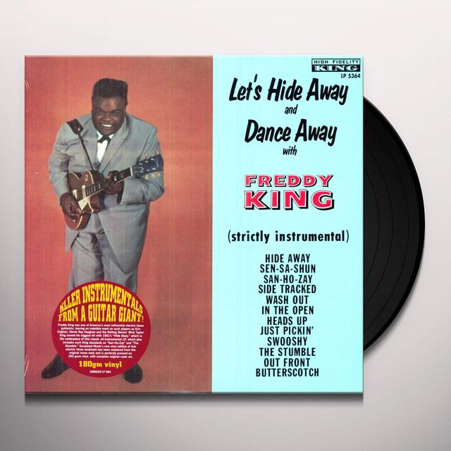 LET'S HIDE AWAY & DANCE AWAY WITH FREDDIE KING Vinyl Record