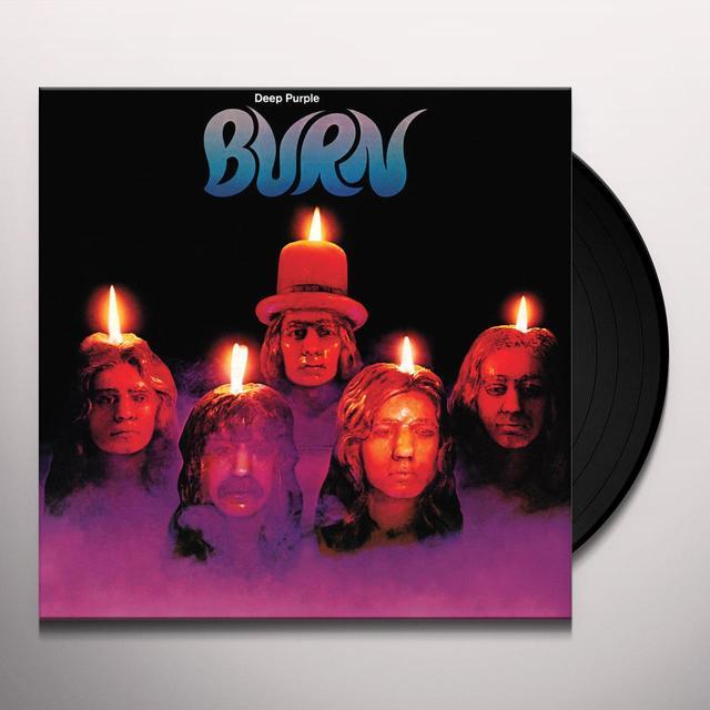Deep Purple BURN Vinyl Record - Limited Edition, 180 Gram Pressing