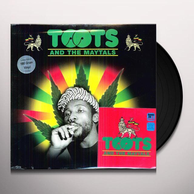Toots & Maytals PRESSURE DROP: THE GOLDEN TRACKS Vinyl Record
