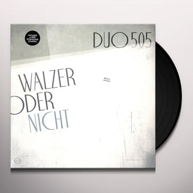 Duo505 WALZER ODER NICHT Vinyl Record