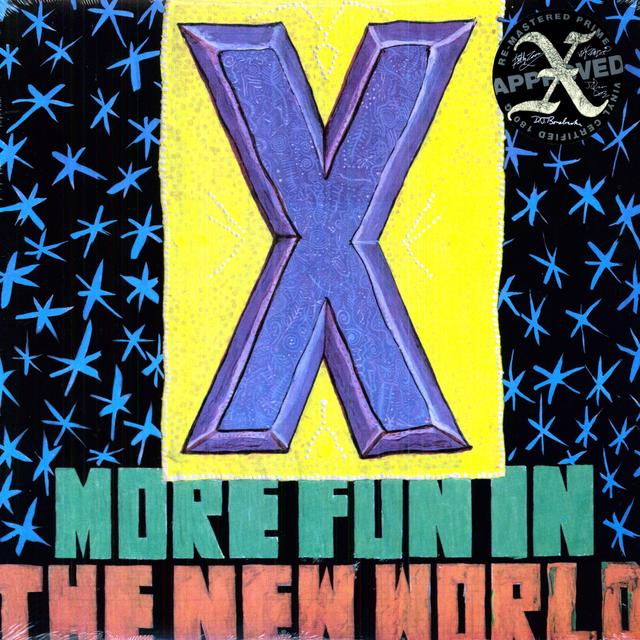 X MORE FUN IN THE NEW WORLD Vinyl Record - 180 Gram Pressing, Remastered