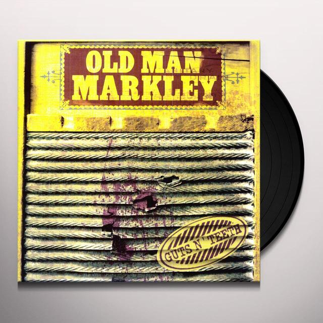 Old Man Markley GUTS N TEETH Vinyl Record