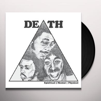 Death SPIRITUAL MENTAL PHYSICAL Vinyl Record