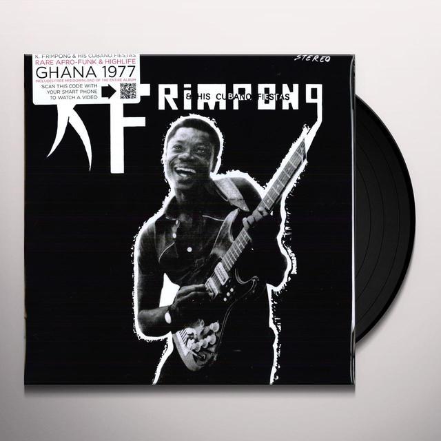 K FRIMPONG & HIS CUBANO FIESTAS Vinyl Record