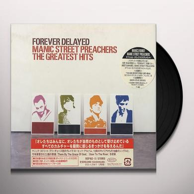 Manic Street Preachers FOREVER DELAYED: GREATEST HITS Vinyl Record - 180 Gram Pressing