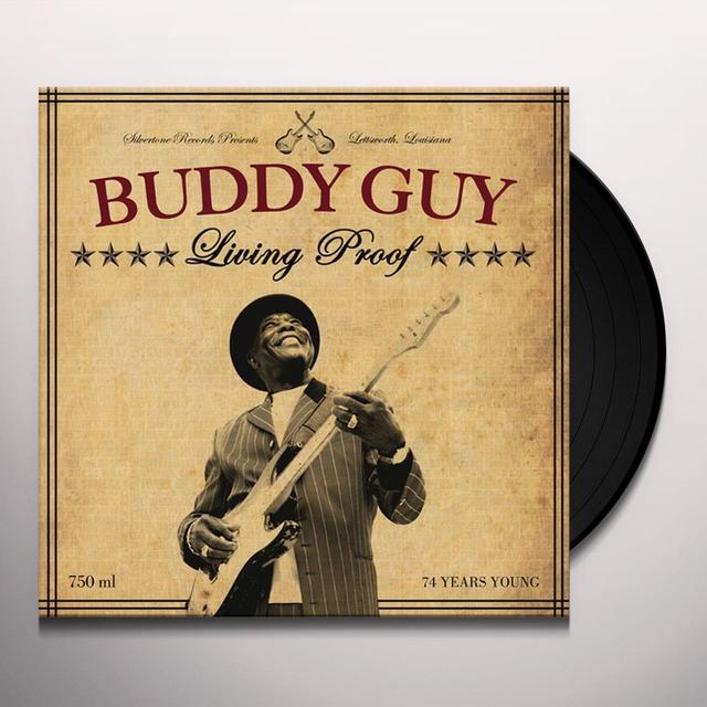 Buddy Guy LIVING PROOF Vinyl Record - 180 Gram Pressing