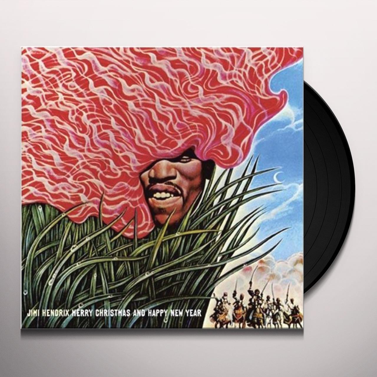 Jimi Hendrix MERRY CHRISTMAS & A HAPPY NEW YEAR Vinyl Record - 180 ...