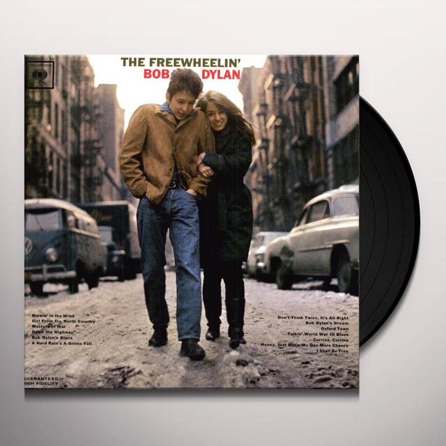 FREEWHEELIN BOB DYLAN Vinyl Record