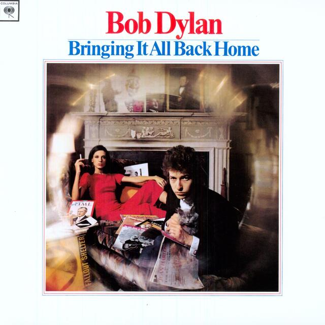 Bob Dylan BRINGING IT ALL BACK HOME Vinyl Record - 180 Gram Pressing, Remastered