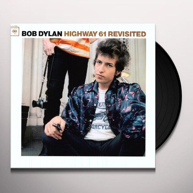 Bob Dylan HIGHWAY 61 REVISITED Vinyl Record - 180 Gram Pressing, Remastered