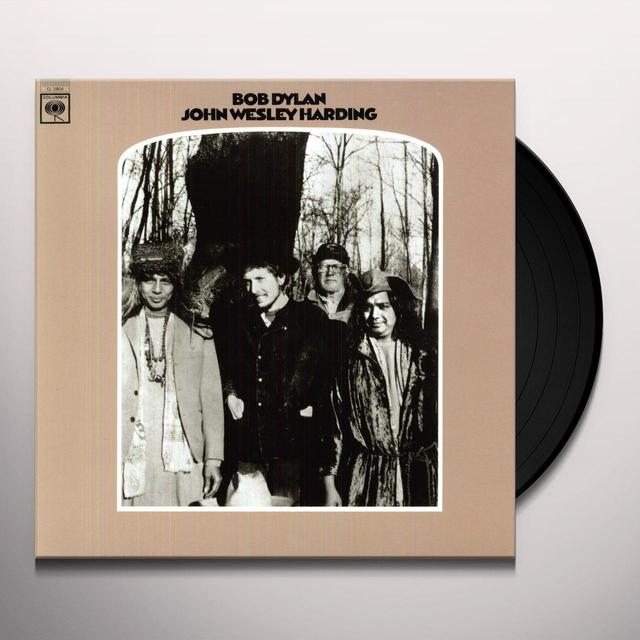 Bob Dylan JOHN WESLEY HARDING Vinyl Record - 180 Gram Pressing, Remastered