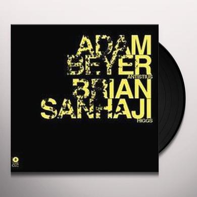 Adam Beyer / Brian Sanhaji ANTISTIUS / HIGGS (EP) Vinyl Record