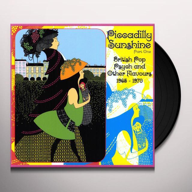 PICCADILLY SUNSHINE 1: BRITISH POP PSYCH / VAR Vinyl Record