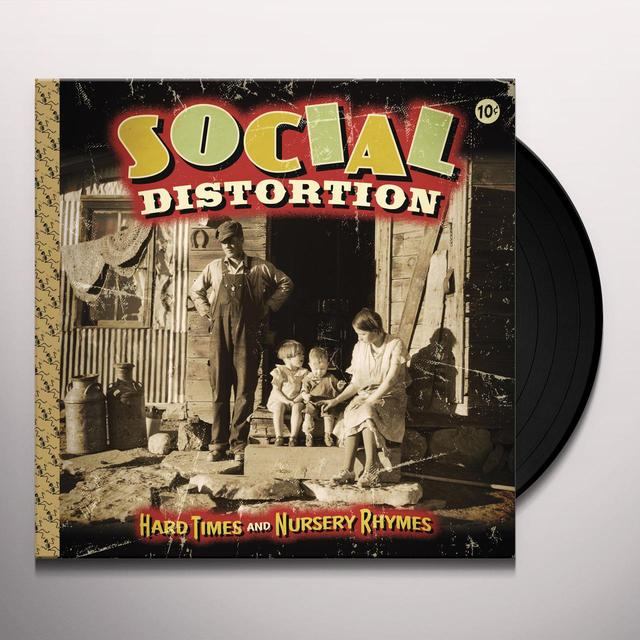 Social Distortion HARD TIMES & NURSERY RHYMES Vinyl Record
