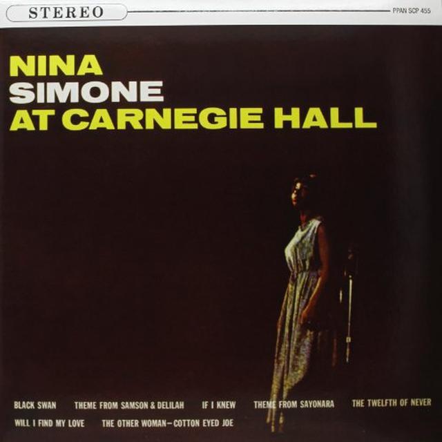 Nina Simone AT CARNEGIE HALL Vinyl Record - 180 Gram Pressing
