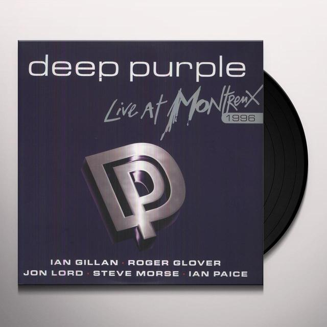 Deep Purple LIVE AT MONTREUX 1996 Vinyl Record - Limited Edition, 180 Gram Pressing