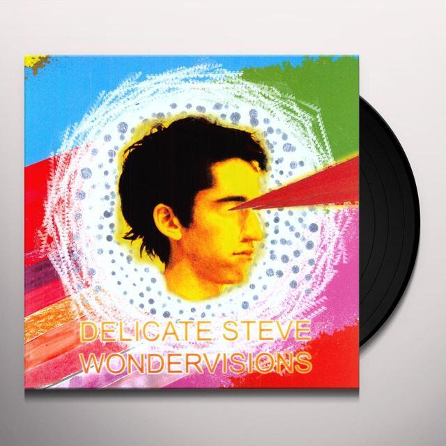 Delicate Steve WONDERVISIONS Vinyl Record