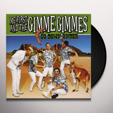 Me First and the Gimme Gimmes GO DOWN UNDER Vinyl Record