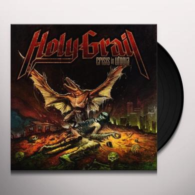Holy Grail CRISIS IN UTOPIA Vinyl Record