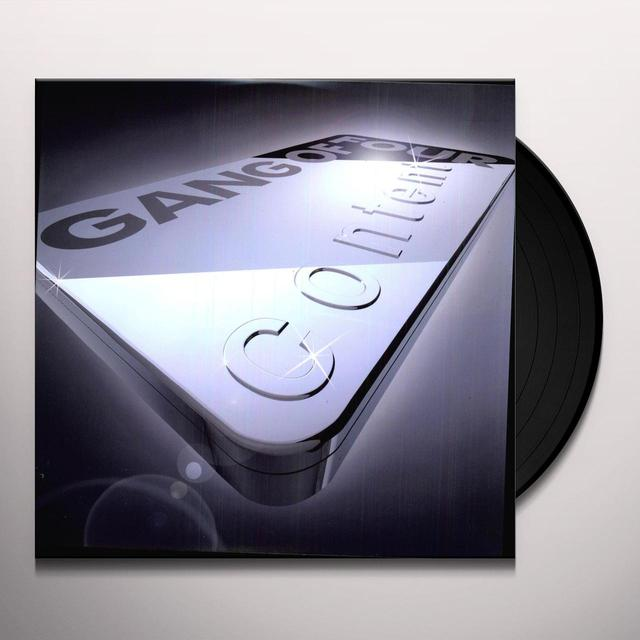 Gang Of Four CONTENT Vinyl Record