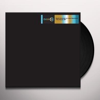 David Alvarado / Luca Bacchetti REMIX Vinyl Record