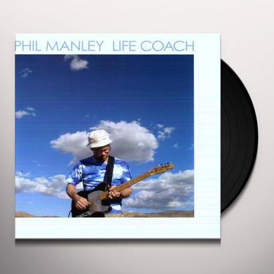 Phil Manley LIFE COACH Vinyl Record - Digital Download Included