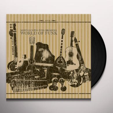 Shawn / Ping Pong Orchestra Lee WORLD OF FUNK Vinyl Record - Digital Download Included