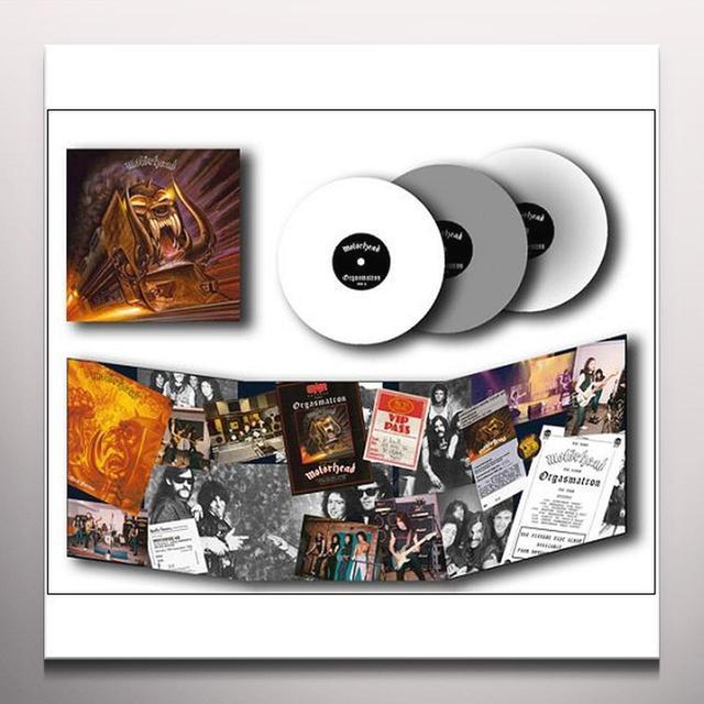 Motorhead ORGASMATRON Vinyl Record - Colored Vinyl, Limited Edition, 180 Gram Pressing