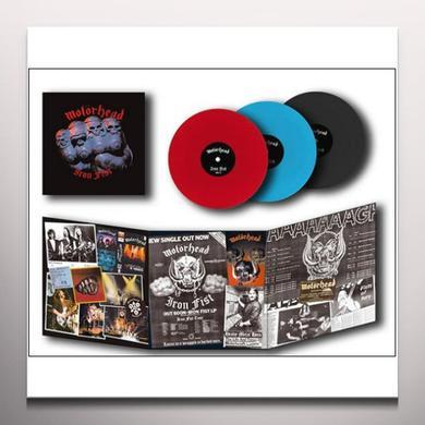 Motorhead IRON FIST Vinyl Record - Colored Vinyl, Limited Edition, 180 Gram Pressing