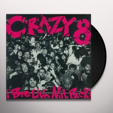 Crazy 8's BIG LIVE NUT PACK Vinyl Record