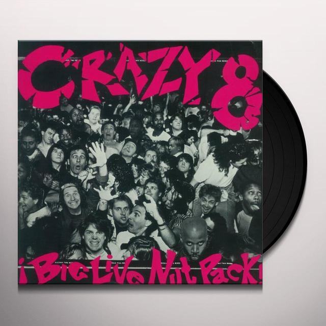 Crazy 8's BIG LIVE NUT PACK Vinyl Record