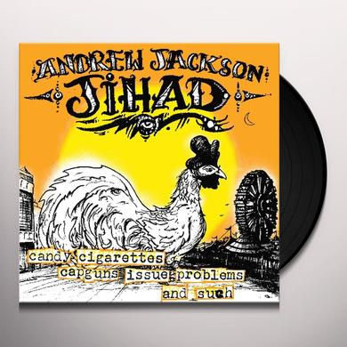 Andrew Jackson Jihad CANDY CIGARETTES CAPGUNS ISSUE PROBLEMS & SUCH Vinyl Record
