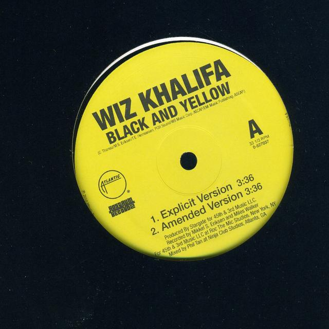 Wiz Khalifa BLACK & YELLOW (Vinyl)