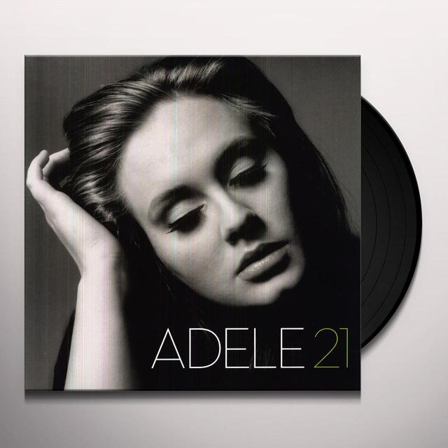 Adele 21 Vinyl Record   Download Included