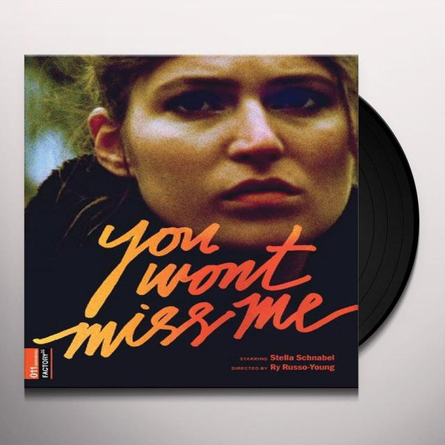 You Wont Miss Me / O.S.T. (W/Dvd) (Ws) (Ltd) (Dol) YOU WONT MISS ME / O.S.T. (W/DVD)  (DOL) (WS) Vinyl Record - Limited Edition