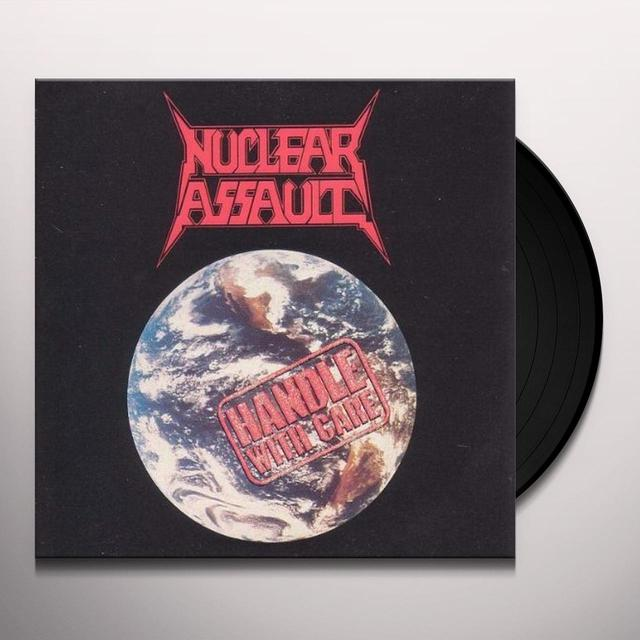 Nuclear Assult HANDLE WITH CARE Vinyl Record