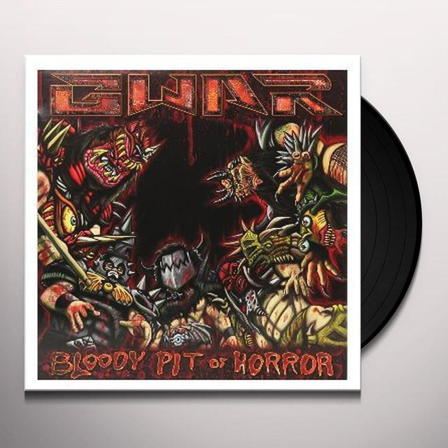 Gwar BLOODY PIT OF HORROR Vinyl Record
