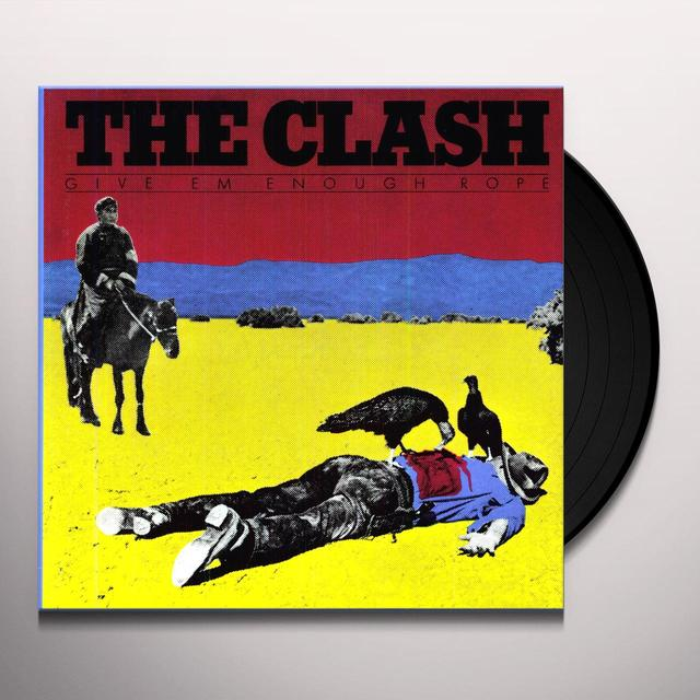 The Clash GIVE EM ENOUGH ROPE Vinyl Record - 180 Gram Pressing