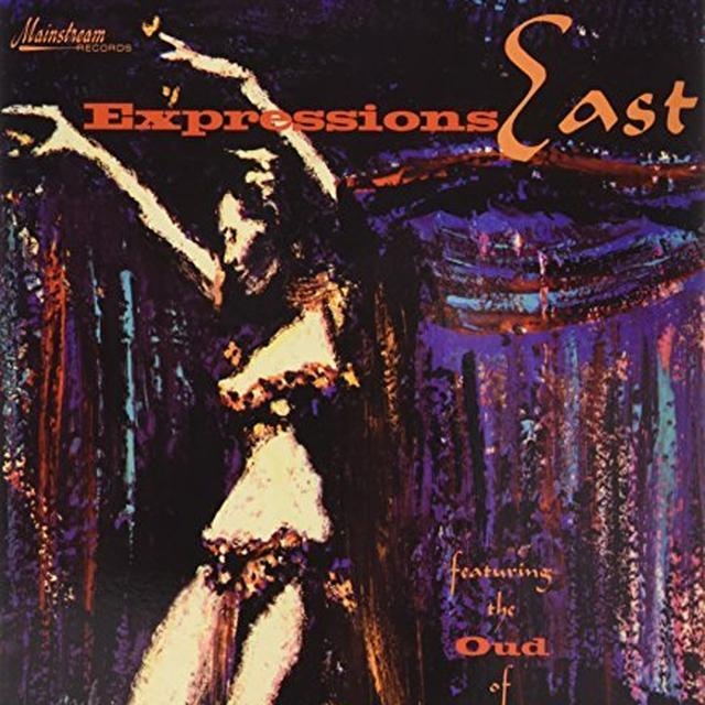 Expressions East FEATURING THE OUD OF JOHN BERBERIAN Vinyl Record